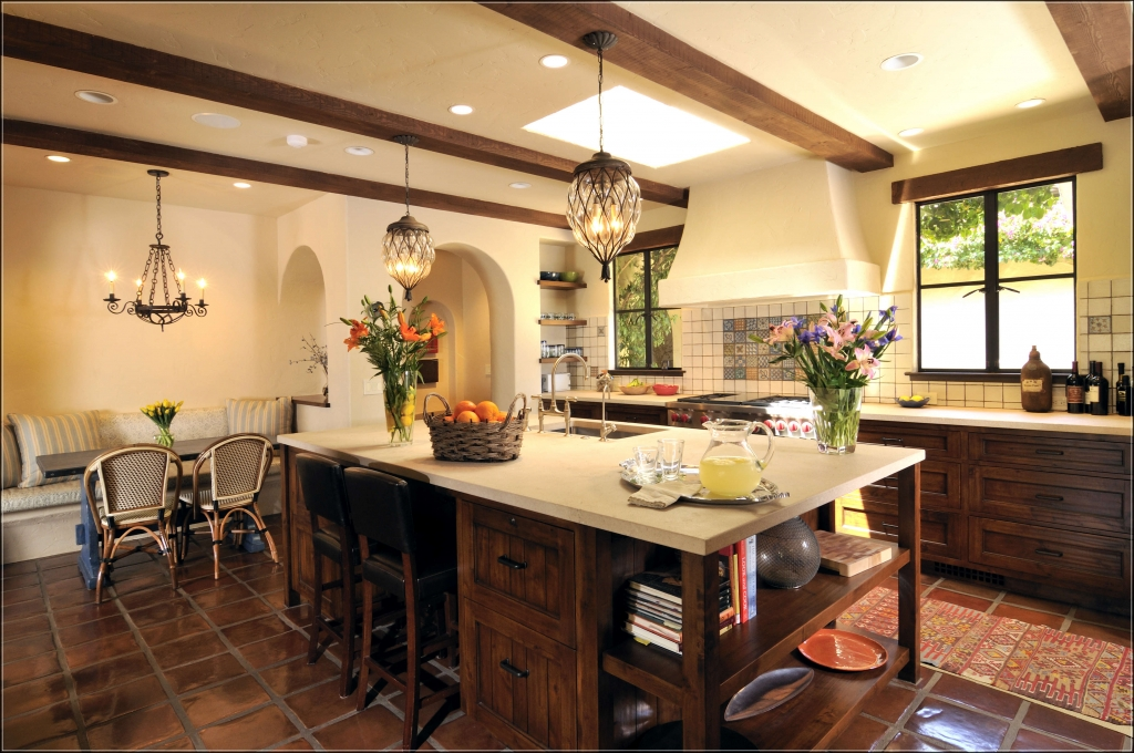 Spanish style kitchen design ideas